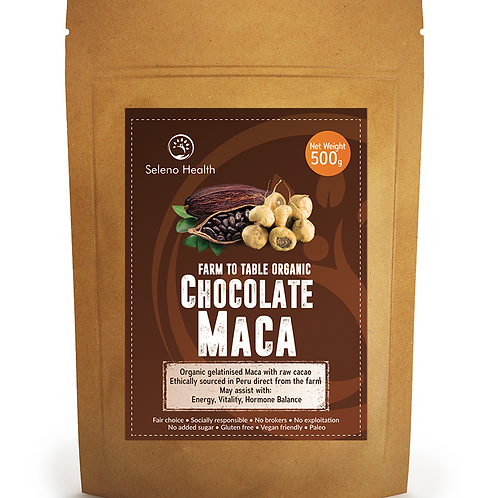 Organic Activated Chocolate Maca - superfood 500g