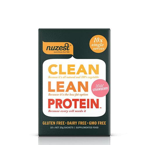Nuzest Clean Lean Protein - Wild Strawberry 20g sachets