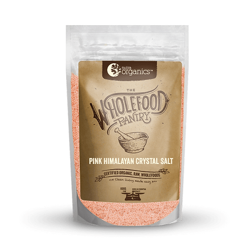 Nutra Organics Pink Himalayan Salt 600g