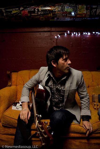 Tom Luce backstage