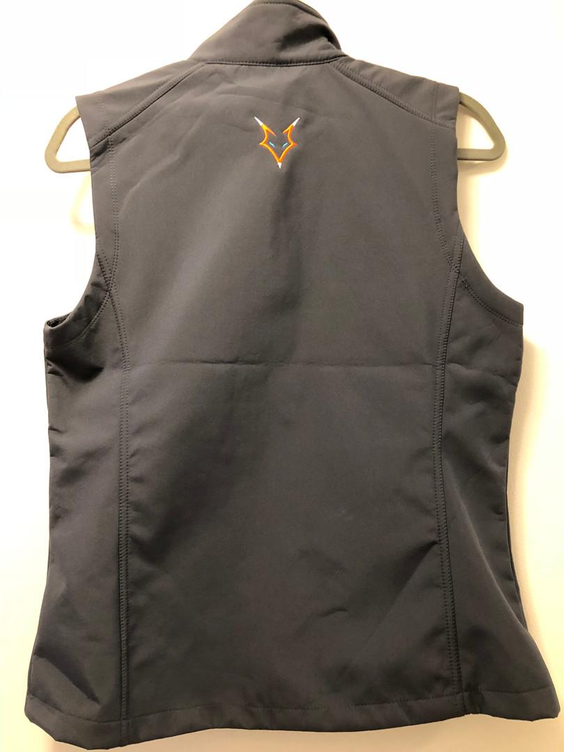 Zip-up Vest- Back