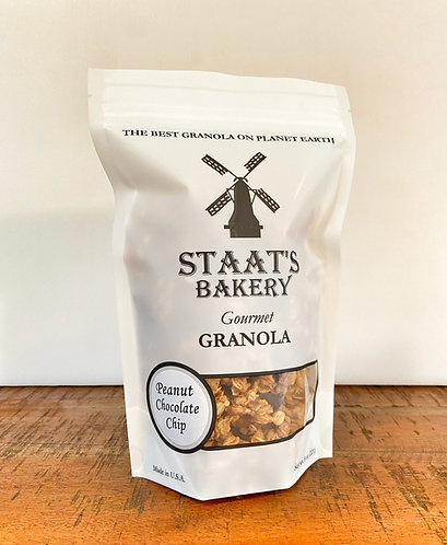 Peanut-Chocolate Chip Gourmet Granola (8 oz)