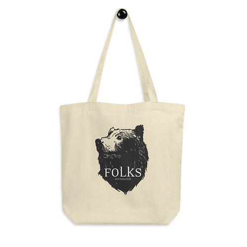 Eco Folks Logo Tote Bag