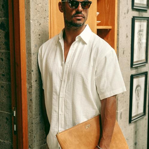 Guerro Woven Texture Shirt - Mens