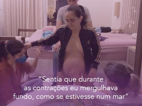 Parto domiciliar VBAC - Fernanda Melaré