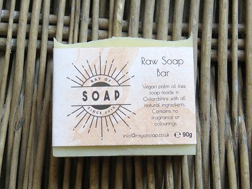 Raw Soap Bar (Unfragranced)
