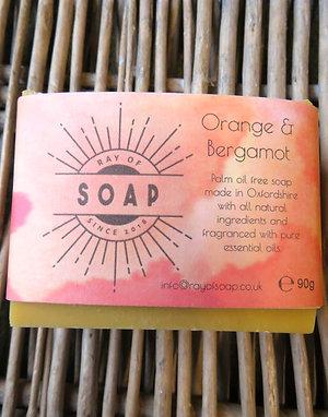 Orange & Bergamot Soap
