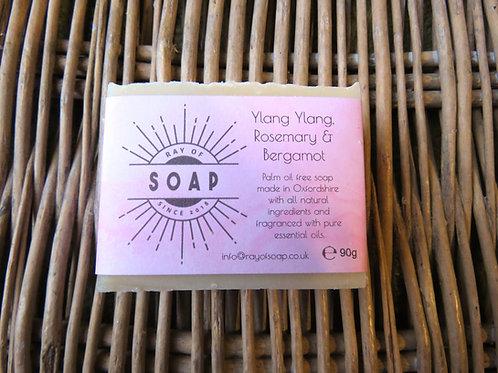 Ylang Ylang, Rosemary & Bergamot Soap