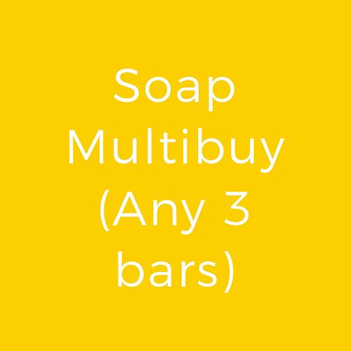 Soap Multibuy (any 3 bars)