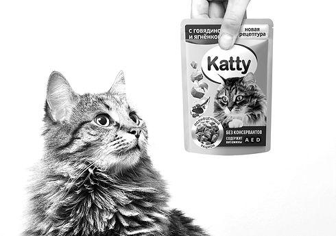 Новый дизайн упаковки Katty от Twin Branding
