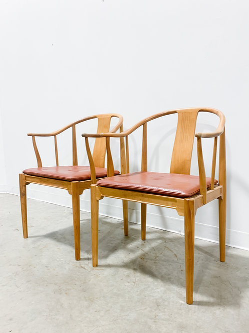 Authentic Hans Wegner 'China' Chairs