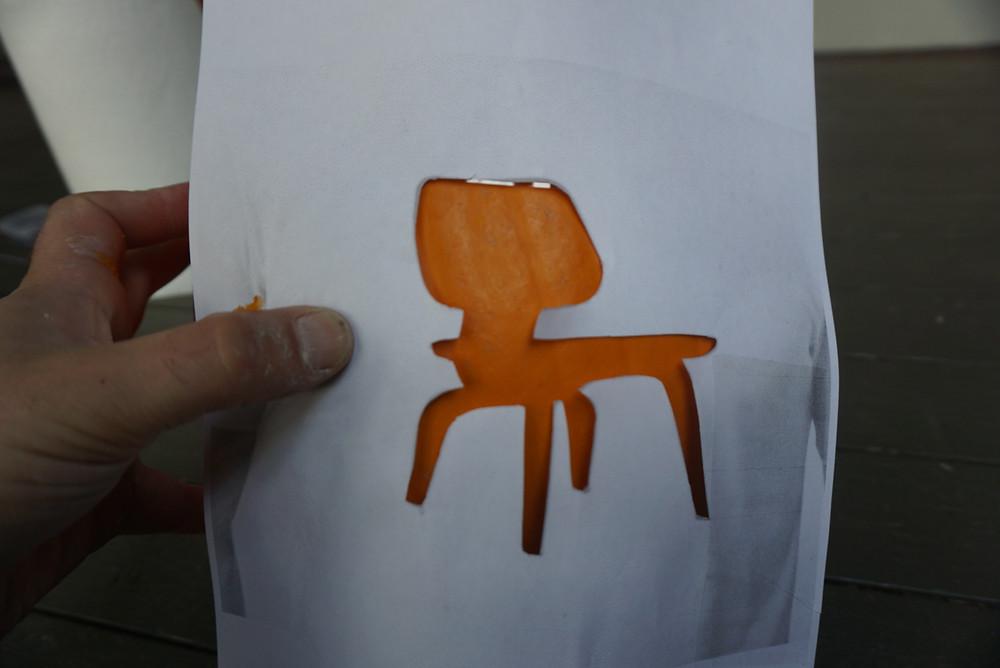 eames pumpkin stencil