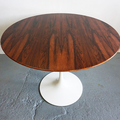 Rare authentic Knoll Rosewood Tulip dining table