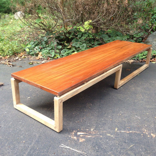 Mid Century Coffee Table, Michael Taylor Table, Baker Furniture
