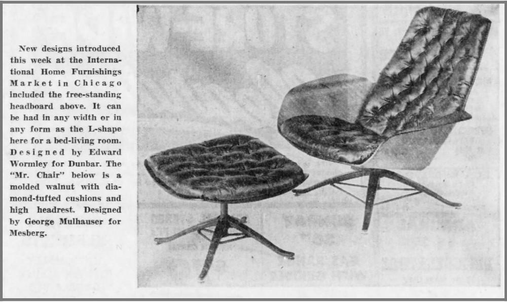 Mr. Chair by Plycraft