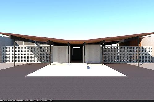Residential Elevation Rendering