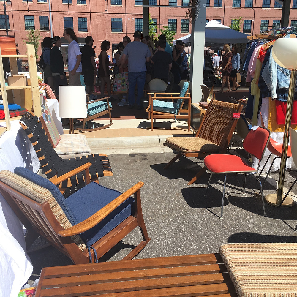 Grand Rapids Downtown Market vintage furniture Trystcraft