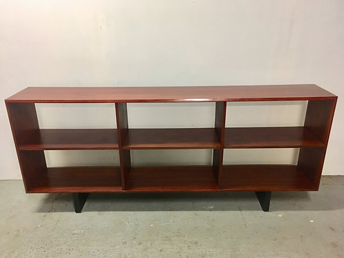 Brazilian Rosewood Console Bookcase TV stand