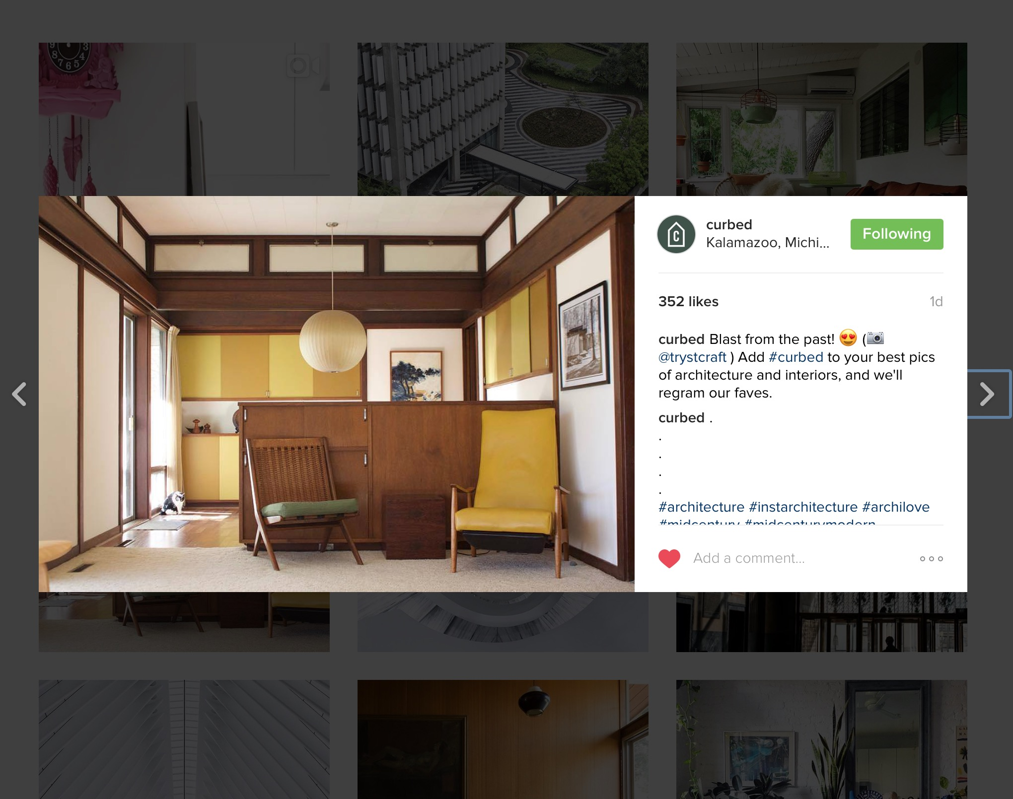 Regram on Curbed's Instagram Feed