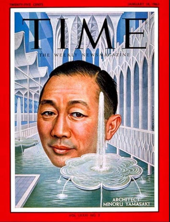 Time mahazin cover Minoru Yamasaki