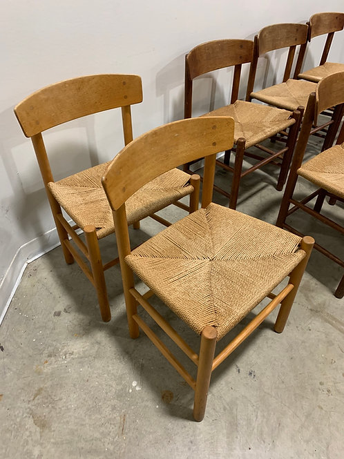 2 Borge Mogensen dining chairs