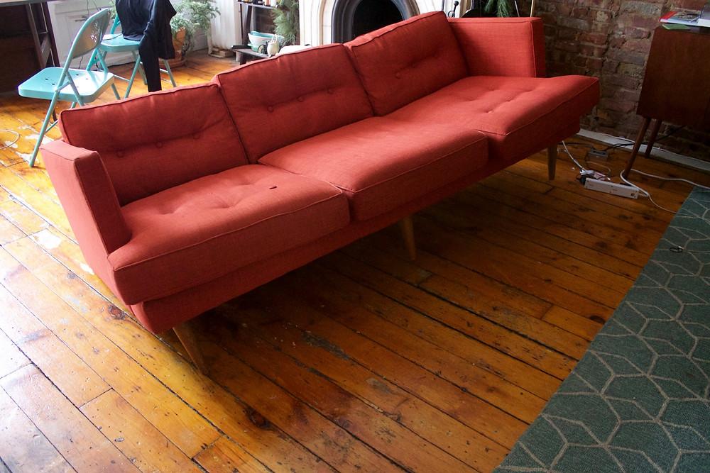 West Elm Peggy sofa