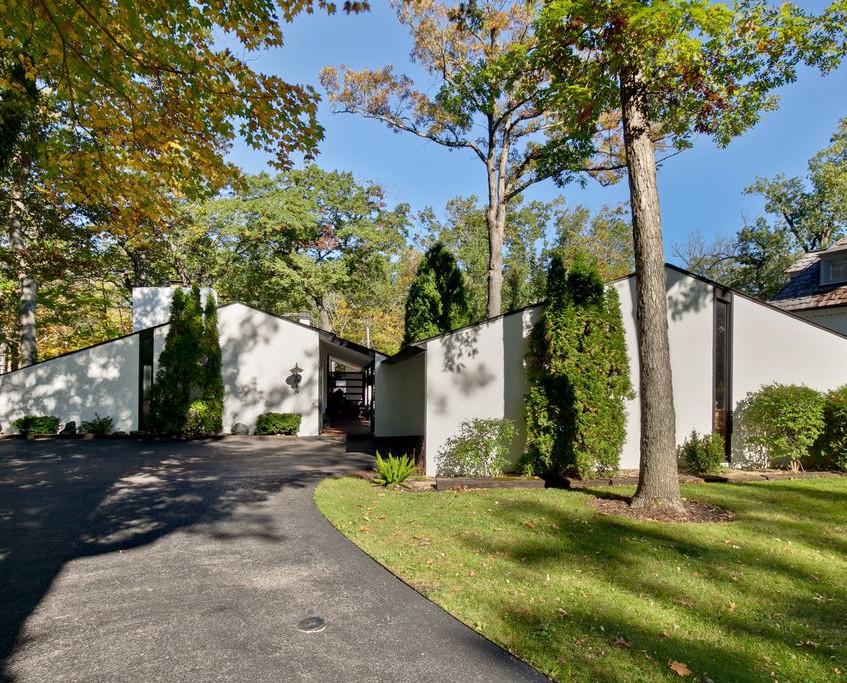 Mid-Century Modern in Lake Bluff, IL