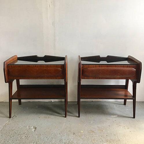 mid century nightstand, osvaldo borsani, italian modern