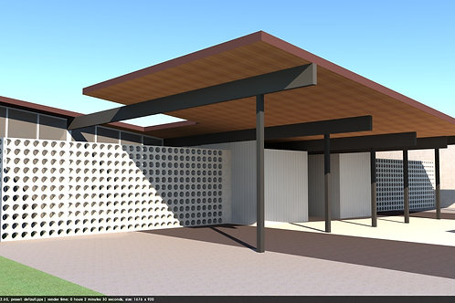 30 Second 3D walkthrough video of a residential structure