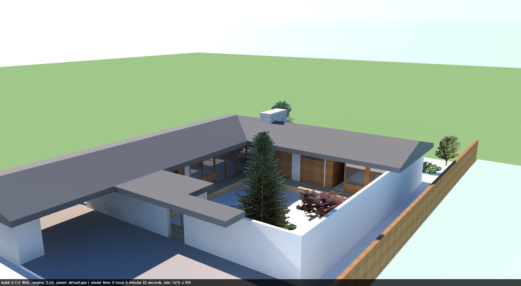 'Courtyard' Trystcraft orig. design