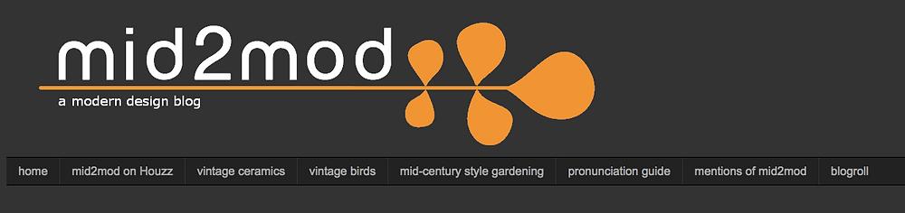 mid century modern blog