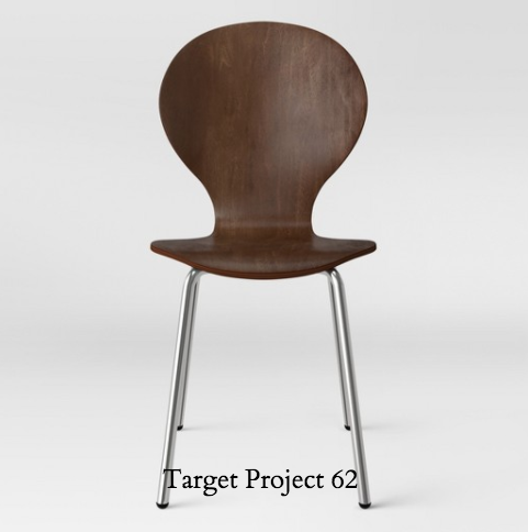 Target chair Goddard modern stacking chair