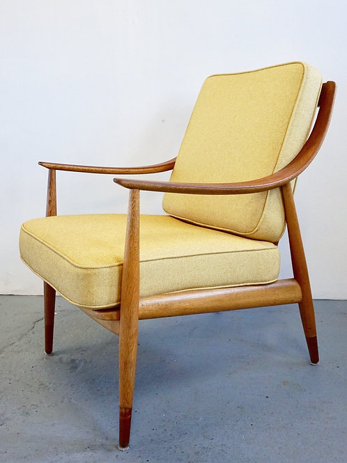 Danish Lounge Chair by Peter Hvidt and Orla Molgaard Nielsen