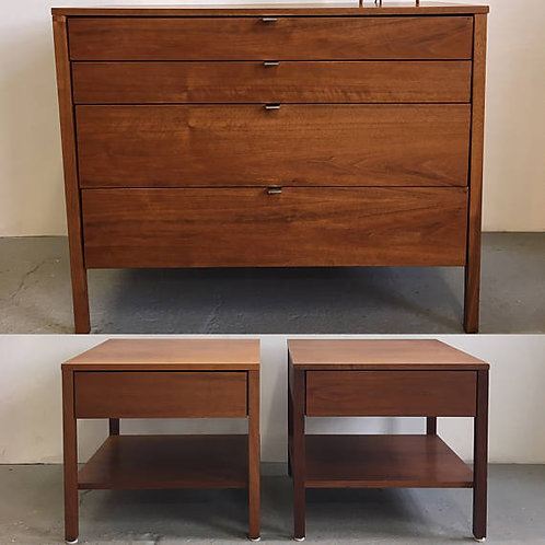 florence knoll dresser, florence knoll nightstand, knoll