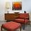 Thumbnail: Folke Ohlsson Dux Teak Lounge Chair + Ottoman