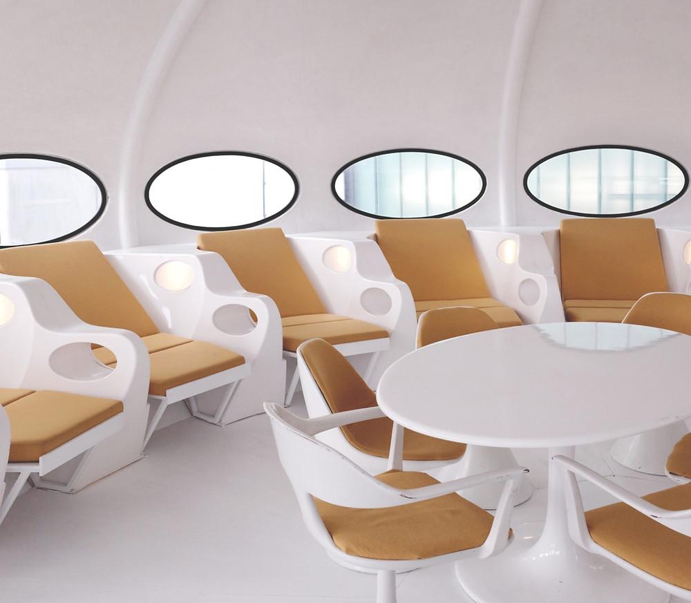 Futuro House interior