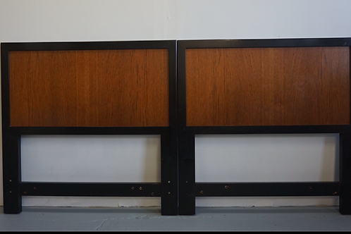 Pair of Harvey Probber Twin Headboards