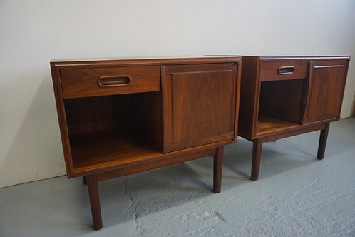 Pair of Founders nightstands by Jack Cartwright