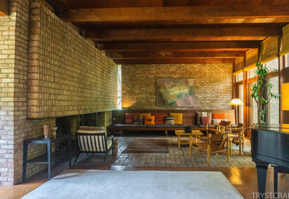 Architect at Home: Paul Schweikher's House in Schaumburg, IL.