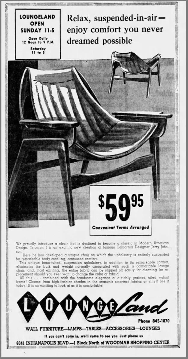 Sensational Jerry Johnson And His Sling Chair Frankydiablos Diy Chair Ideas Frankydiabloscom