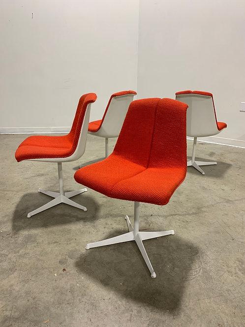4 Knoll Richard Schultz chairs