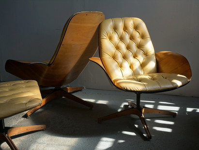 The History of THE Mr. Chair by Designer George Mulhauser