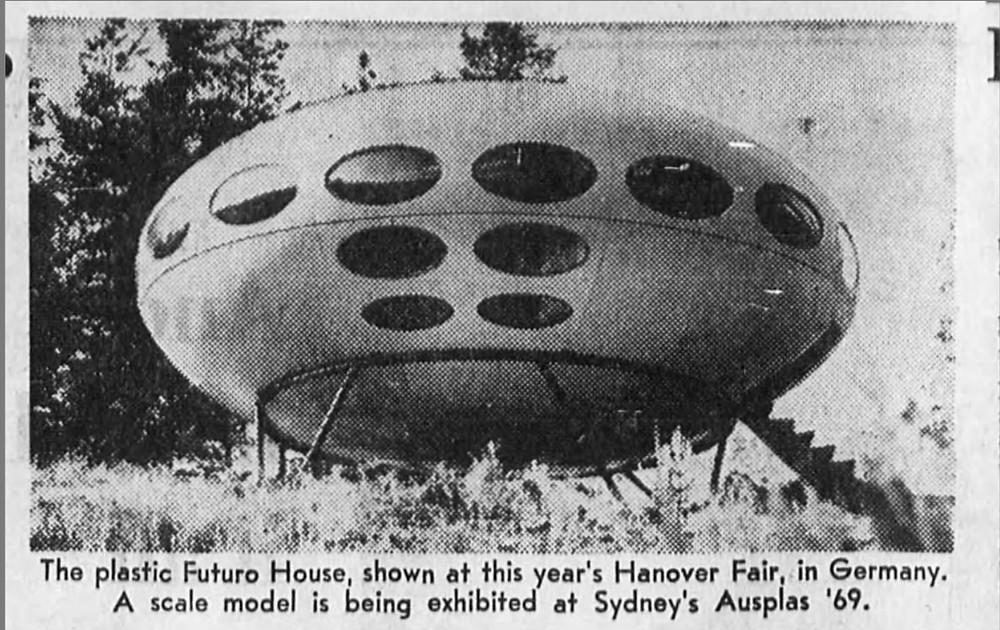 Futuro House in Germany