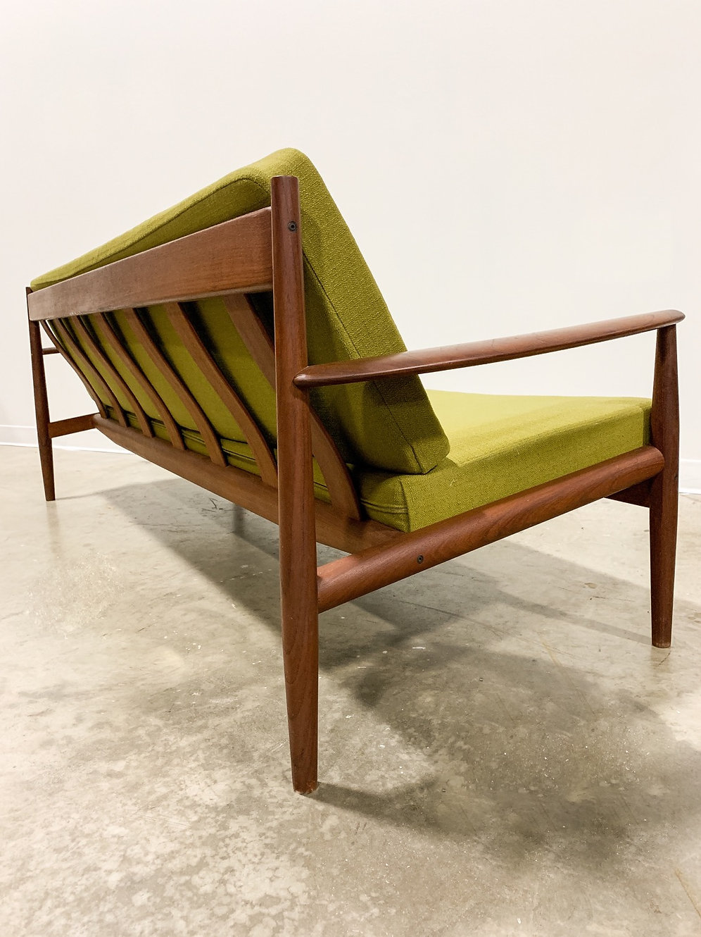 Grete Jalk Sofa in teak by France and Son | trystcraft