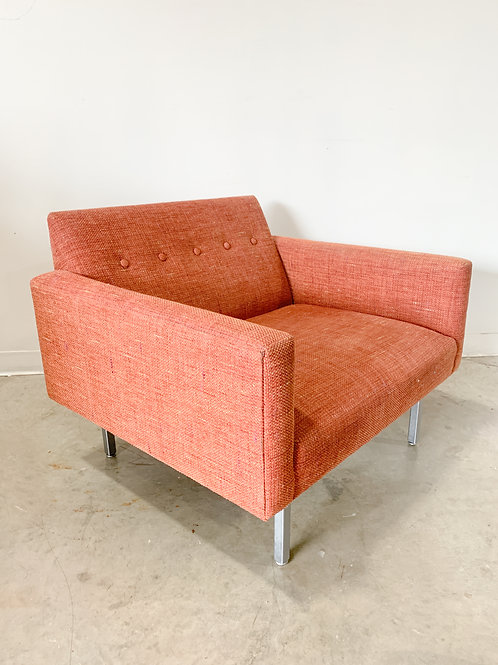 Rare George Nelson Modular Seating System Single Chair