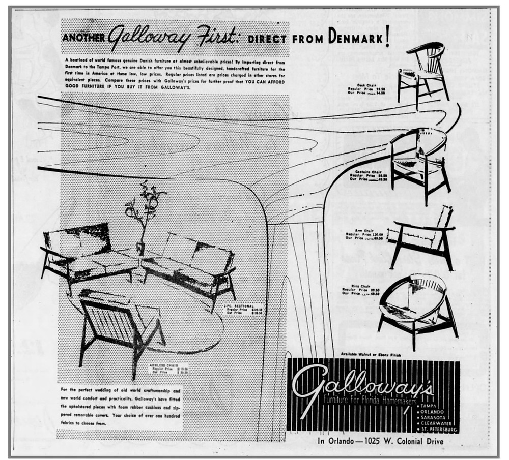 Galloway's Danish Furniture