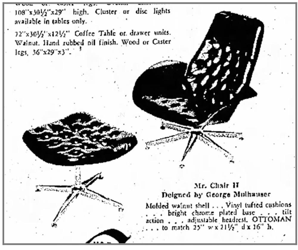 Mr. Chair II