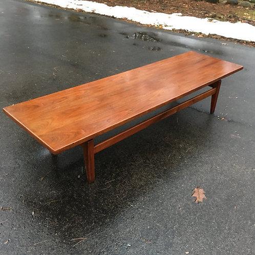 Jens Risom coffee table 6 foot