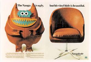 vintage Nauga advertisement