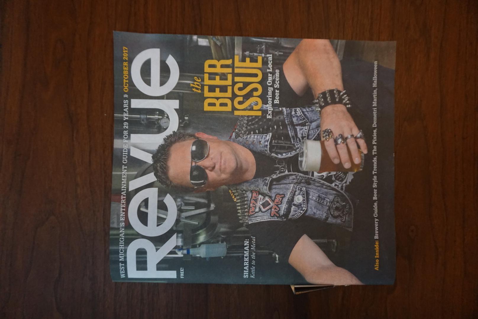 Revue Magazine Cover